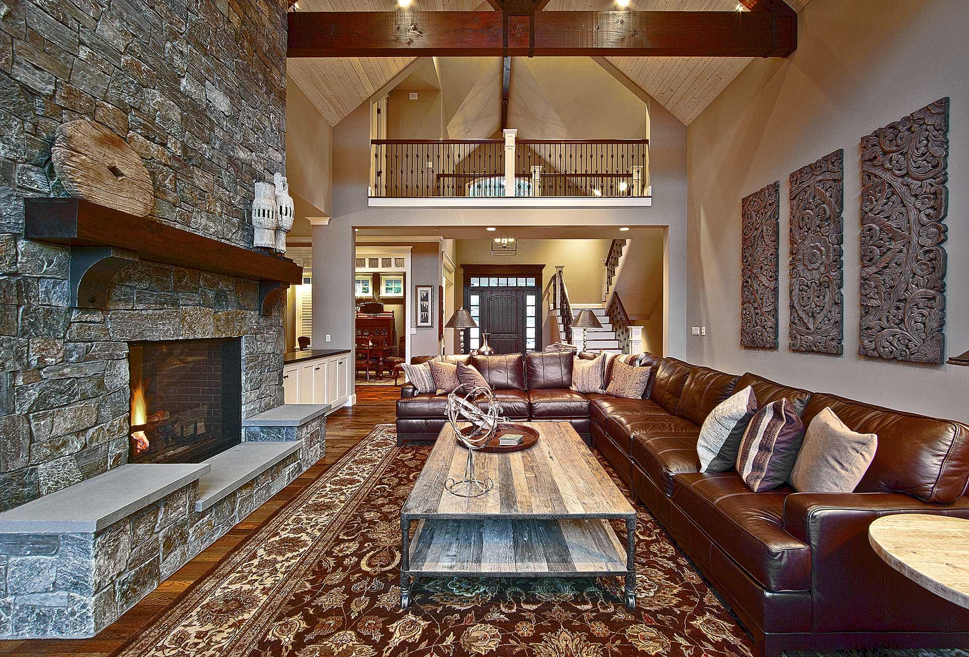 Design Guild Homes. A Beaver Lake Retreat Custom Built Home.