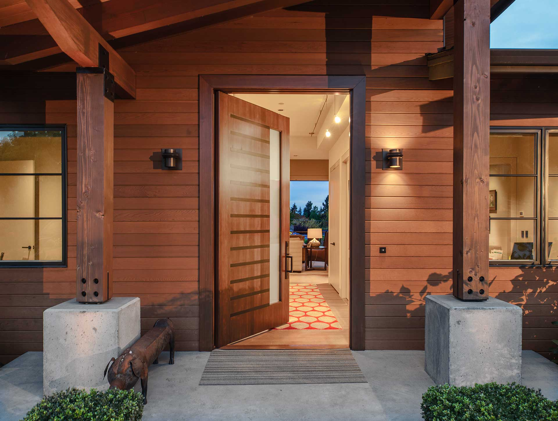 Design Guild Homes. Viewcrest Modern Custom Built Home.