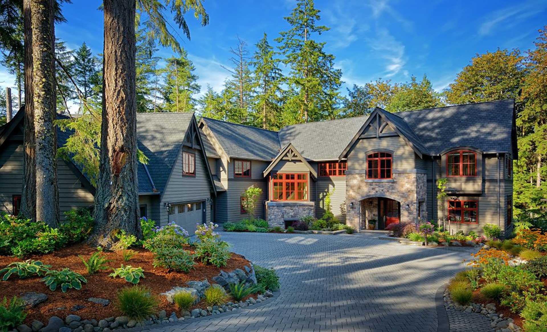 Design Guild Homes. Wooded Highlands Custom Built Home.