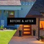 Before & After. NW Contemporary Addition Remodel